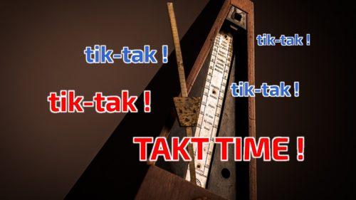 czas taktu - klient nadaje tempo